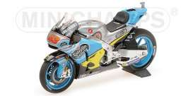 Honda  - RC213V 2017 blue/yellow - 1:18 - Minichamps - 182171143 - mc182171143 | The Diecast Company