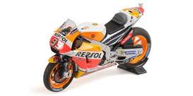 Honda  - RC213V 2017 red/yellow/orange - 1:18 - Minichamps - 182171193 - mc182171193 | The Diecast Company