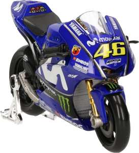 Yamaha  - YZR-M1 2017 blue/green - 1:18 - Minichamps - 182173046 - mc182173046 | The Diecast Company