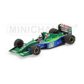 Jordan Ford - 191 1991 green/blue - 1:43 - Minichamps - 510914301 - mc510914301 | The Diecast Company