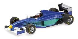 Sauber Ferrari - C16 1997 blue/white/green - 1:43 - Minichamps - 517974399 - mc517974399 | The Diecast Company