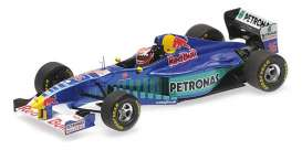 Sauber Ferrari - C16 1997 blue/purple/green - 1:43 - Minichamps - 417970016 - mc417970016 | The Diecast Company