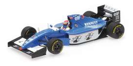Ligier Renault - JS39B 1994 blue/white/black - 1:43 - Minichamps - 417940025 - mc417940025 | The Diecast Company