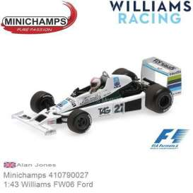 Williams Ford - FW06 1979 white/green/black - 1:43 - Minichamps - 410790027 - mc410790027 | The Diecast Company