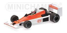 Williams Ford - FW06 1979 white/orange - 1:43 - Minichamps - 410790049 - mc410790049 | The Diecast Company