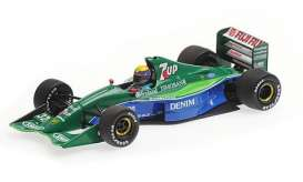 Jordan Ford - 191 1991 blue/green - 1:43 - Minichamps - 410910232 - mc410910232 | The Diecast Company