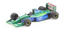 Jordan Ford - 191 1991 blue/green - 1:43 - Minichamps - 410910332 - mc410910332 | The Diecast Company