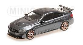 BMW  - M4 GTS 2016 grey/orange wheels - 1:43 - Minichamps - 410025228 - mc410025228 | The Diecast Company