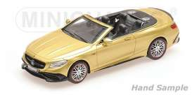 Brabus Mercedes Benz - 2016 gold - 1:43 - Minichamps - 437034234 - mc437034234 | The Diecast Company