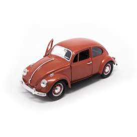 Volkswagen  - 1967 brown-copper - 1:24 - Lucky Diecast - 24202br - ldc24202br | The Diecast Company