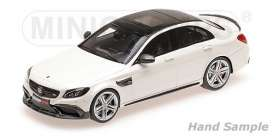 Brabus Mercedes Benz - 2015 white - 1:43 - Minichamps - 437036104 - mc437036104 | The Diecast Company