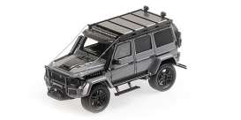 Brabus  - 550 2017 grey - 1:43 - Minichamps - 437037160 - mc437037160 | The Diecast Company