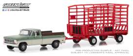 Ford  - F 100 1969  - 1:64 - GreenLight - 32150A - gl32150A | The Diecast Company