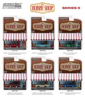 Assortment/ Mix  - various - 1:64 - GreenLight - 97050 - gl97050 | The Diecast Company