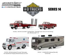 Assortment/ Mix  - various - 1:64 - GreenLight - 33140 - gl33140 | The Diecast Company