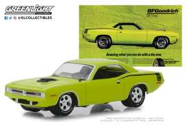 Plymouth  - Hemi Cuda 1970 yellow - 1:64 - GreenLight - 29977 - gl29977 | The Diecast Company