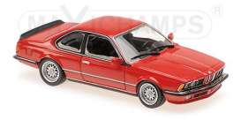 BMW  - 635 CSI 1982 red - 1:43 - Maxichamps - 940025122 - mc940025122 | The Diecast Company