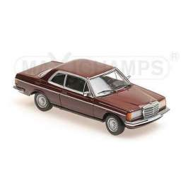 Mercedes Benz  - 230CE 1976 red - 1:43 - Maxichamps - 940032221 - mc940032221 | The Diecast Company