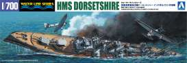 Boats  - British Heavy Cruiser Dorsetsh  - 1:700 - Aoshima - 152662 - abk152662 | The Diecast Company