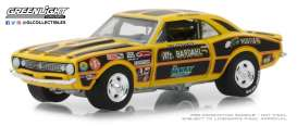 Chevrolet  - Camaro 427 Mr. Bardahl II 1967 yellow/black - 1:64 - GreenLight - 29987 - gl29987 | The Diecast Company