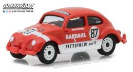 Volkswagen  - Beetle #87 *Bardahl* 1967 red/white - 1:64 - GreenLight - 29988 - gl29988 | The Diecast Company
