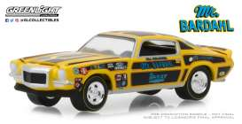 Chevrolet  - Camaro Mr. Bardahl 1967 yellow/black - 1:64 - GreenLight - 29989 - gl29989 | The Diecast Company