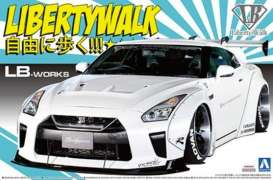 LB Works  - R35 GT-R Type 1.5  - 1:24 - Aoshima - 155908 - abk155908 | The Diecast Company