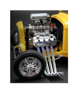 Engine  - chrome - 1:18 - Acme Diecast - acme180501E | The Diecast Company