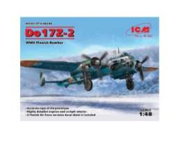 Planes  - Do 17Z-2 WWII Finnish Bomber  - 1:48 - ICM - icm48246 | The Diecast Company