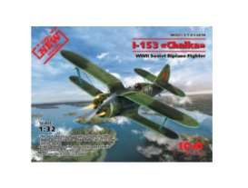 Planes  - I-153 WWII Soviet Fighter  - 1:32 - ICM - icm32010 | The Diecast Company