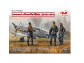 Figures diorama - German Luftwaffe Pilots 1939  - 1:32 - ICM - icm32101 | The Diecast Company