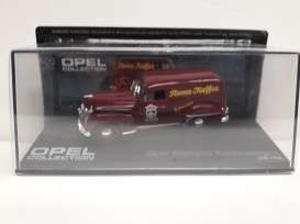 Opel  - Kastenwagen brown - 1:43 - Magazine Models - Ope88 - MagOpe088 | The Diecast Company