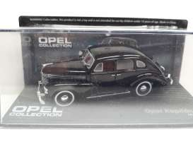 Opel  - Kapitan 38 black - 1:43 - Magazine Models - Ope90 - MagOpe090 | The Diecast Company