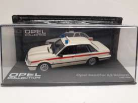 Opel  - Senator A white/red - 1:43 - Magazine Models - Ope102 - MagOpe102 | The Diecast Company