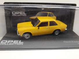 Opel  - Kadett C yellow - 1:43 - Magazine Models - Ope108 - MagOpe108 | The Diecast Company