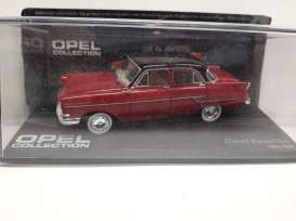 Opel  - Kapitan red/black - 1:43 - Magazine Models - Ope110 - MagOpe110 | The Diecast Company