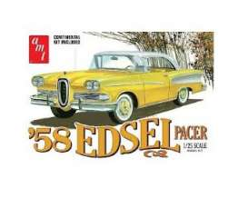 Edsel  - Pacer 1958  - 1:25 - AMT - s1087 - amts1087 | The Diecast Company