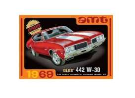 Oldsmobile  - 442 W-30 1969  - 1:25 - AMT - s1105 - amts1105 | The Diecast Company