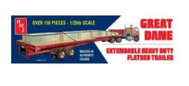 Great Dane  - Extendable Flatbed  - 1:25 - AMT - s1111 - amts1111 | The Diecast Company