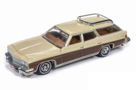 Buick  - Estate Wagon 1975 sand beige - 1:64 - Auto World - SP013A - AWSP013A | The Diecast Company