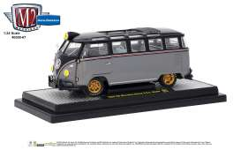 Volkswagen  - Microbus DeLuxe 1959 black/grey - 1:24 - M2 Machines - 40300-67B - M2-40300-67B | The Diecast Company