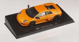 Lamborghini  - 2007 orange - 1:43 - Hotwheels Elite - mvp4884 - hwmvp4884 | The Diecast Company
