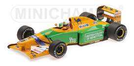 Benetton Ford - B192 1992 green/yellow - 1:18 - Minichamps - 110920020 - mc110920020 | The Diecast Company