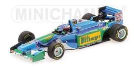 Benetton Ford - B194 1994 green/blue - 1:43 - Minichamps - 517941605 - mc517941605 | The Diecast Company