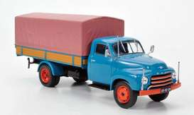 Opel  - 1952 blue - 1:43 - Magazine Models - Ope151 - MagOpe151 | The Diecast Company