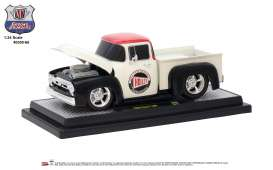 Ford  - F-100 1956 white/red/black - 1:24 - M2 Machines - 40300-66B - M2-40300-66B | The Diecast Company