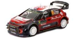 Citroen  - C3 2018 red/white/black - 1:43 - IXO Models - ram662 - ixram662 | The Diecast Company