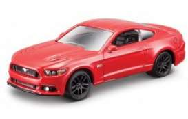 Ford  - Mustang GT 2015 red - 1:64 - Bburago - 59044r - bura59044r | The Diecast Company