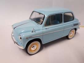 ZAZ  - 1963 light blue - 1:18 - Premium Scale Models - PSM18002A | The Diecast Company