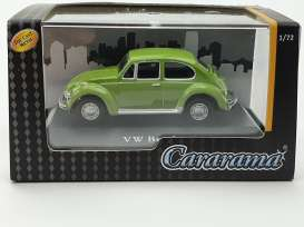 Volkswagen  - Beetle dark green - 1:72 - Cararama - 711ND-021A1 - cara711ND-021A1 | The Diecast Company